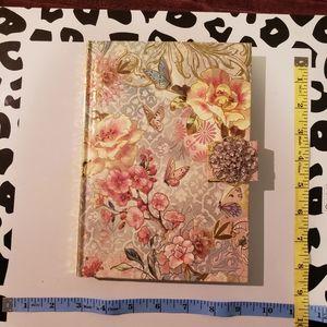 BOGO Journal notebook beautiful floral design